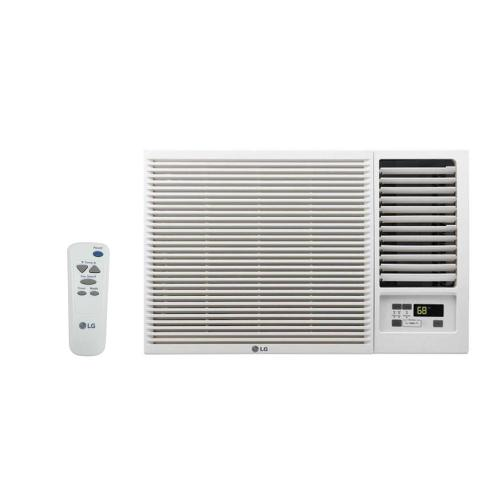 small resolution of 18 000 btu 230 208 volt window air conditioner with cool heat and remote