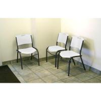 Lifetime Grey Metal Stacking Side Chair (Set of 14)-880184 ...
