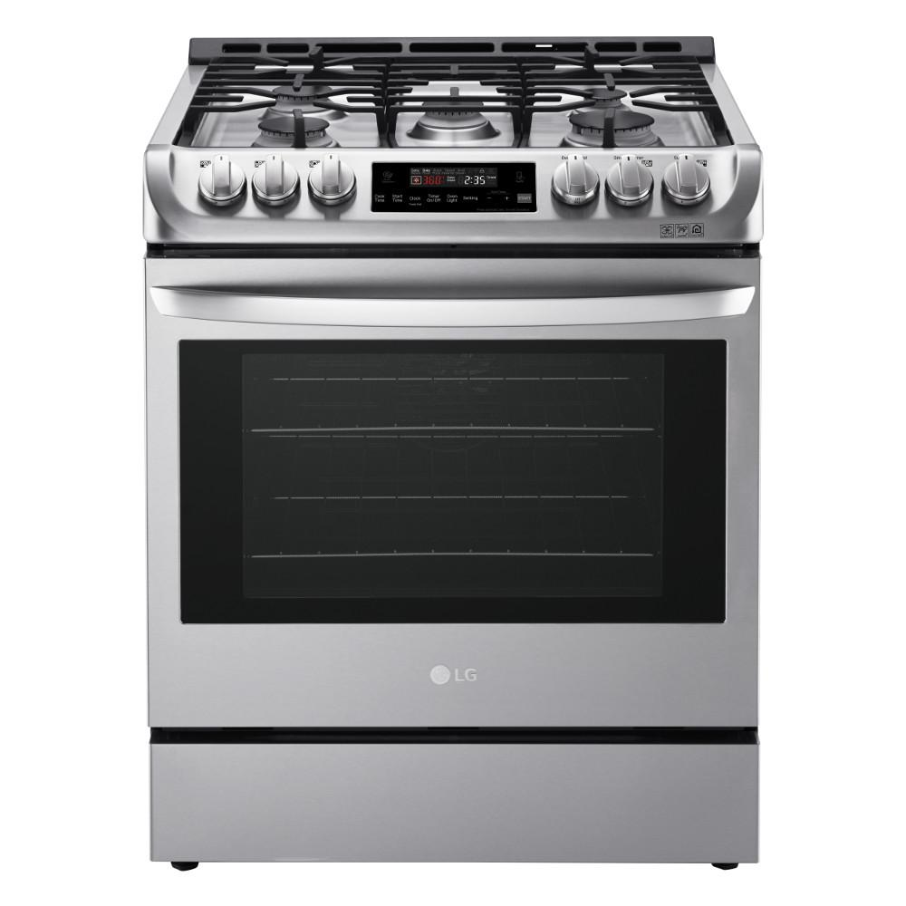 medium resolution of slide in gas range with probake convection oven