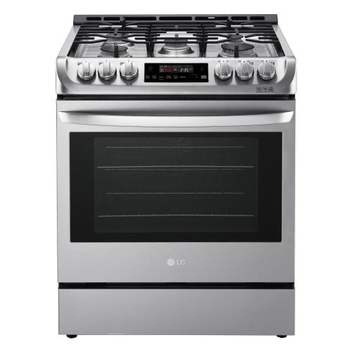 small resolution of slide in gas range with probake convection oven