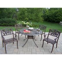 Hampton Bay Statesville Shell 5-piece Aluminum Outdoor