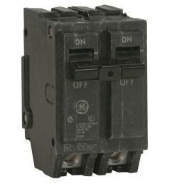 ge q line 20 amp 2 in double pole circuit breaker [ 1000 x 1000 Pixel ]