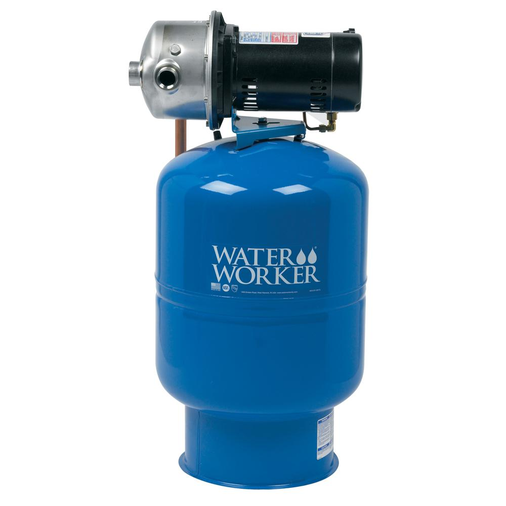 medium resolution of water worker city water pressure booster system with 14 gal well tank 1
