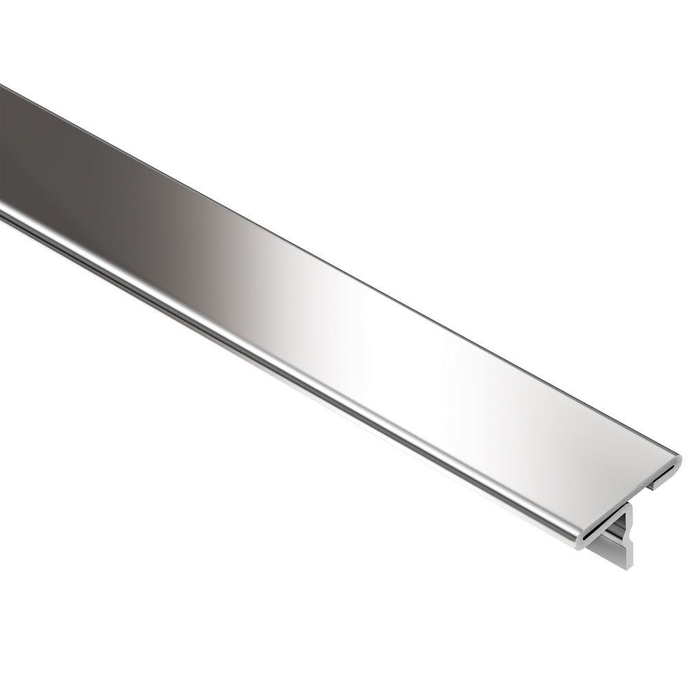 Schluter RenoT Stainless Steel 1732 in x 8 ft 212 in