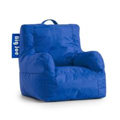 Big Joe Kids Chair Lounge Outdoor Chairs Lil Duo Sapphire Smartmax Bean Bag 0651614 The Home Depot