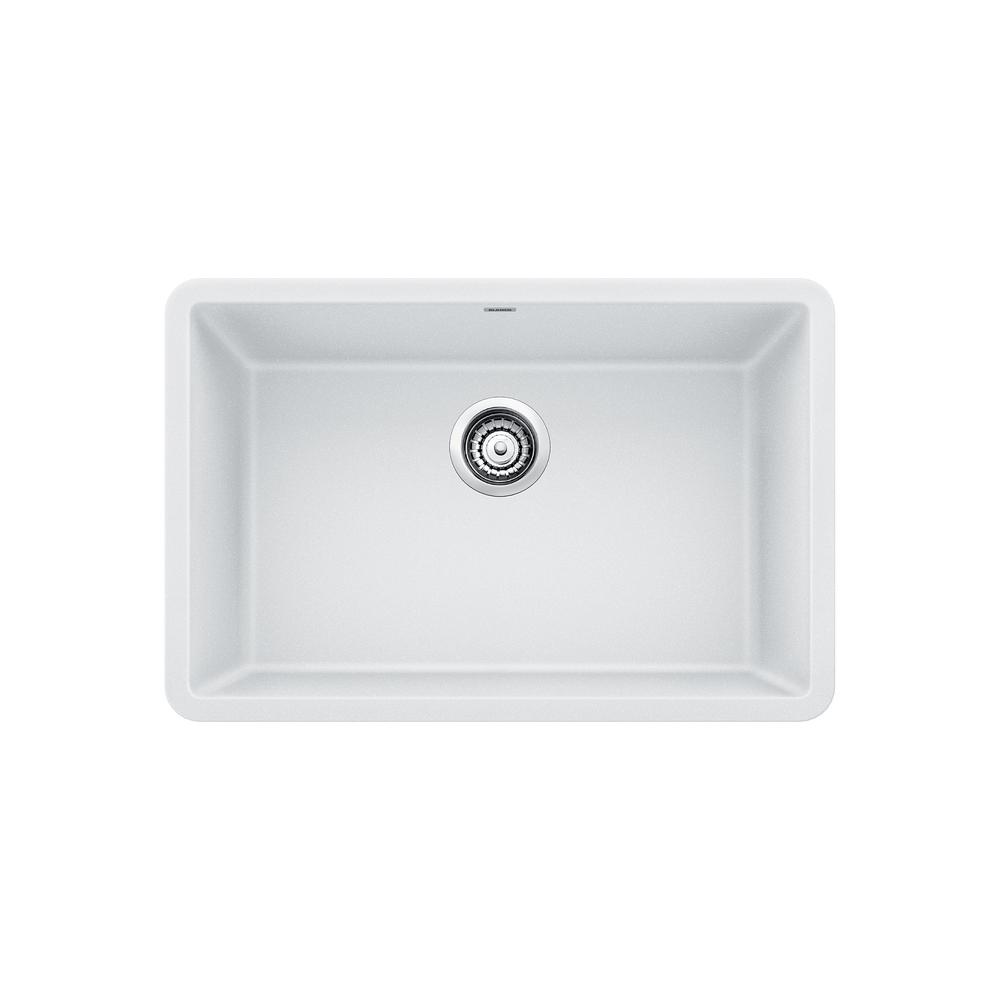27 kitchen sink how to replace countertops blanco precis undermount granite composite in single bowl white