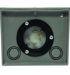 generac 30 amp raintight power inlet box [ 1000 x 1000 Pixel ]