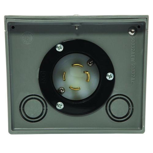 small resolution of generac 30 amp raintight power inlet box
