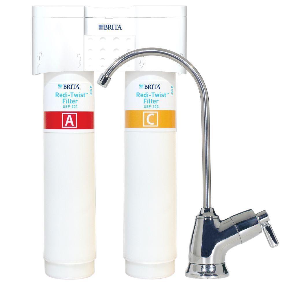Brita Redi-Twist 2-Stage Drinking Water Filtration System ...