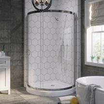 Ove Decors Breeze 38 In. X 76 Shower Kit With