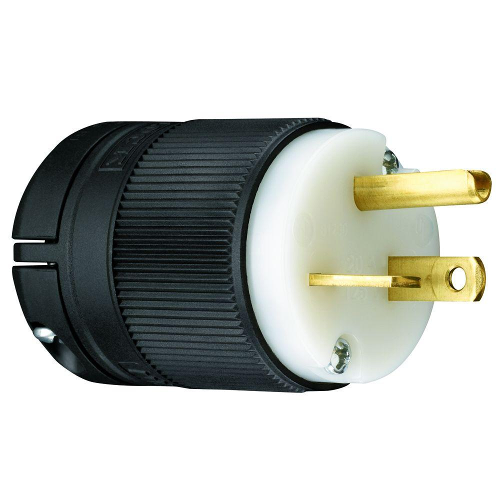 medium resolution of legrand pass and seymour clamp lock 20 amp 125 volt straight blade plug