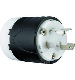 legrand pass seymour turnlok 30 amp 250 volt locking plug [ 1000 x 1000 Pixel ]