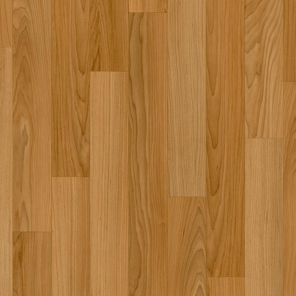 TrafficMASTER Take Home Sample  Oak Strip Butterscotch
