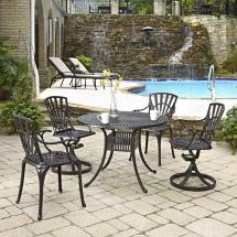 Home Styles Largo 42 In. 5-piece Patio Dining Set-5560