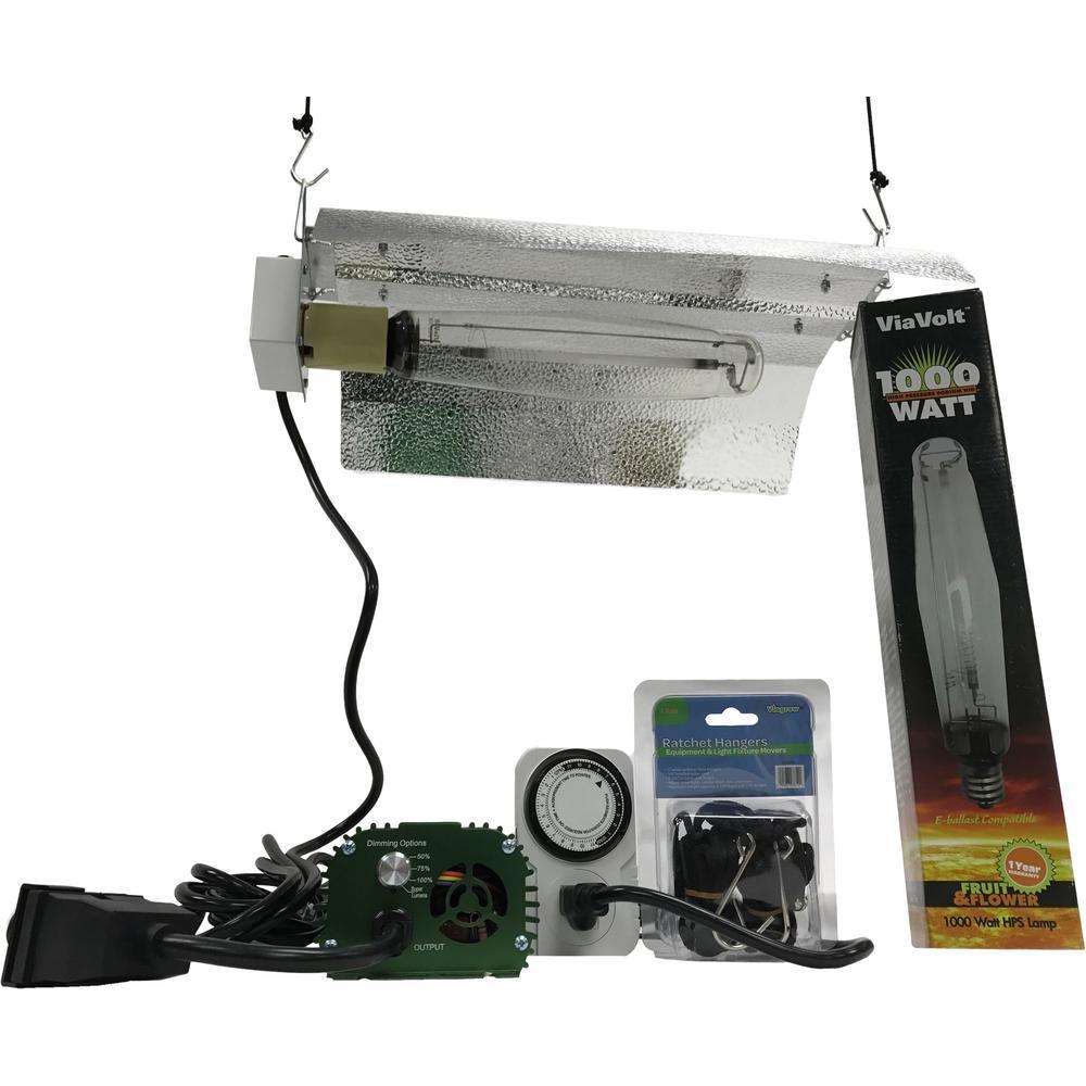 medium resolution of viavolt 1000 watt electronic hps mh 120 240 bat wing grow light system