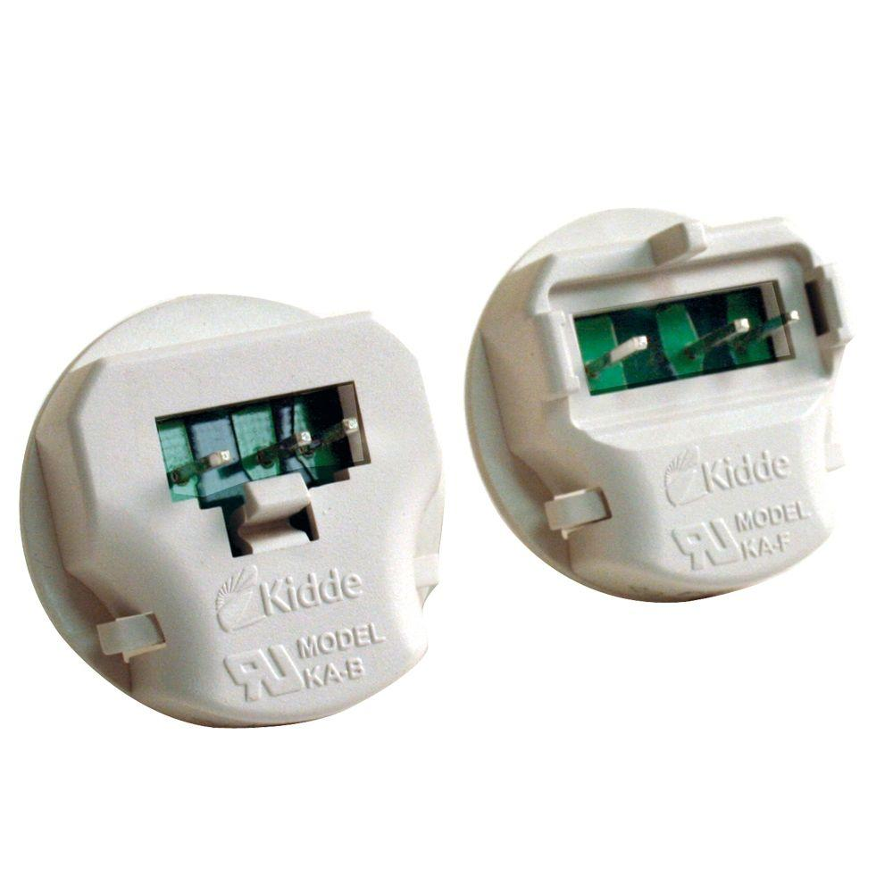 hight resolution of smoke alarm adapters 2 pack