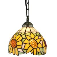 Star 1-Light Clear Glass and Oiled Bronze Pendant Lamp-TN ...