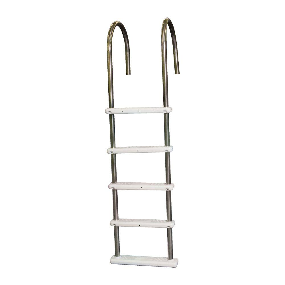 Non Skid Steps In-Pool Ladder For 54 In Deep Above Ground