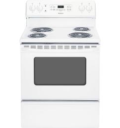 wiring diagram at hotpoint hotpoint 5 0 cu ft electric range with self cleaning oven in white [ 1000 x 1000 Pixel ]