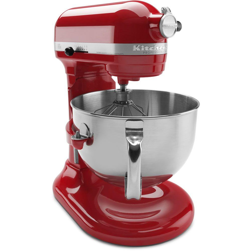 red kitchen aid mixer patio kitchens kitchenaid professional 600 series 6 qt empire stand