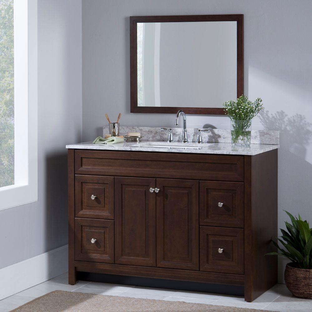 Vanities without Tops  Bathroom Vanities  The Home Depot