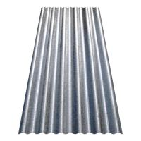 8 ft. Corrugated Galvanized Steel Utility-Gauge Roof Panel ...