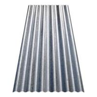 8 ft. Corrugated Galvanized Steel Utility-Gauge Roof Panel ...