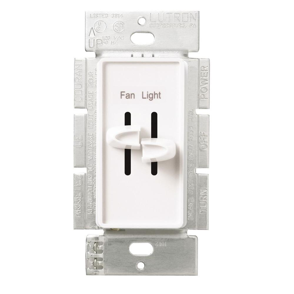 hight resolution of lutron skylark 1 5 amp single pole 3 speed combination fan and light control