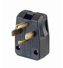 black white green leviton male plug wiring plug [ 1000 x 1000 Pixel ]