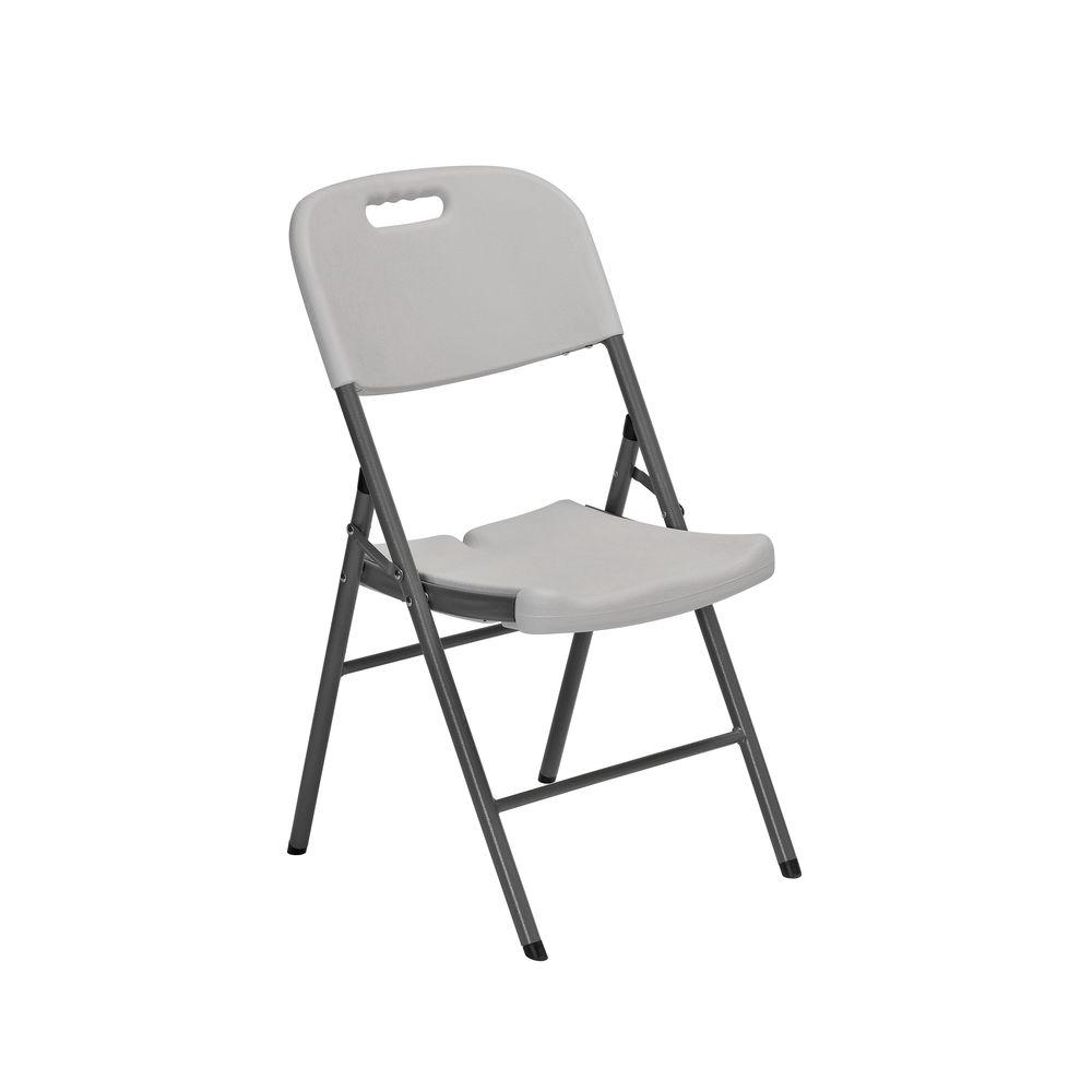 Sandusky White Folding Chair Set of 4FPC182035  The