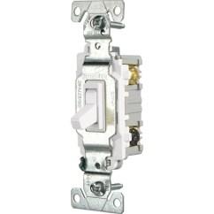Wiring Diagram Of Three Way Light Switch Bike Parts Eaton 15 Amp 3 White