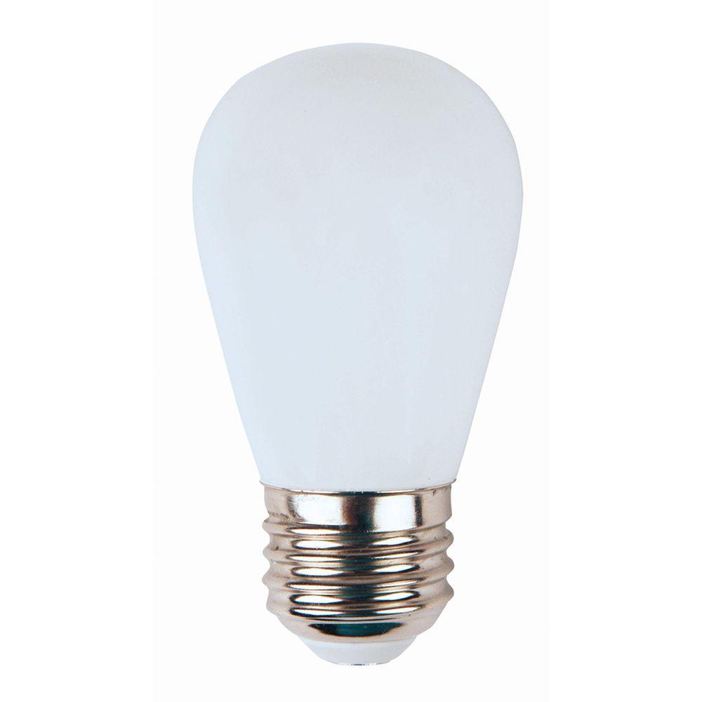 medium resolution of meridian 11w equivalent bright white 3000k s14 non dimmable led replacement light bulb