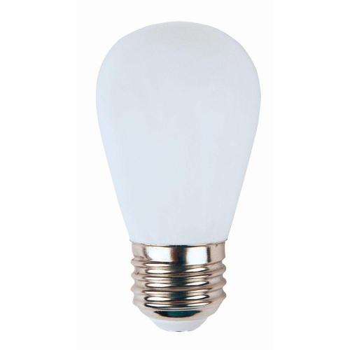 small resolution of meridian 11w equivalent bright white 3000k s14 non dimmable led replacement light bulb