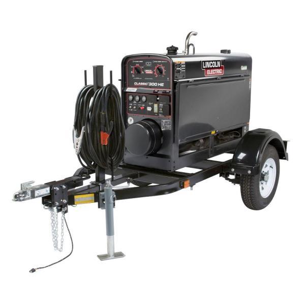 Campbell Hausfeld Air Compressor Generator Combo Unit 30 Gal. Stationary Gas Honda Gx390 Engine