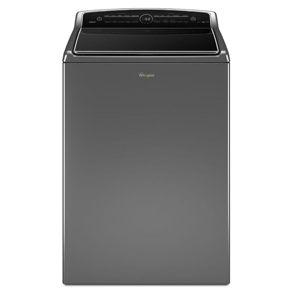 hight resolution of high efficiency chrome shadow top load washing machine with