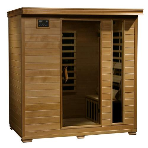 small resolution of radiant sauna 4 person hemlock infrared sauna with 9 carbon heaters
