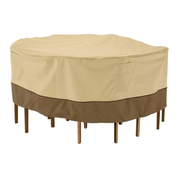 Classic Accessories Veranda Large Patio Table And Chair Set Cover-78942 - Home Depot
