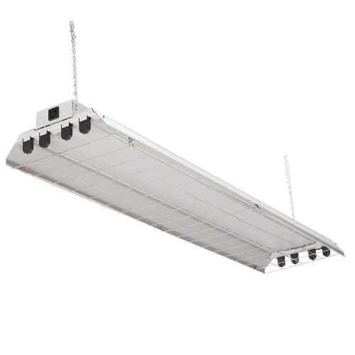 small resolution of lithonia lighting 4 light grey fluorescent heavy duty shop light