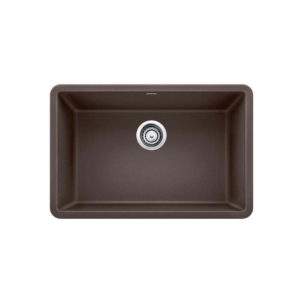 27 kitchen sink small island for blanco precis undermount granite composite in single bowl cafe brown