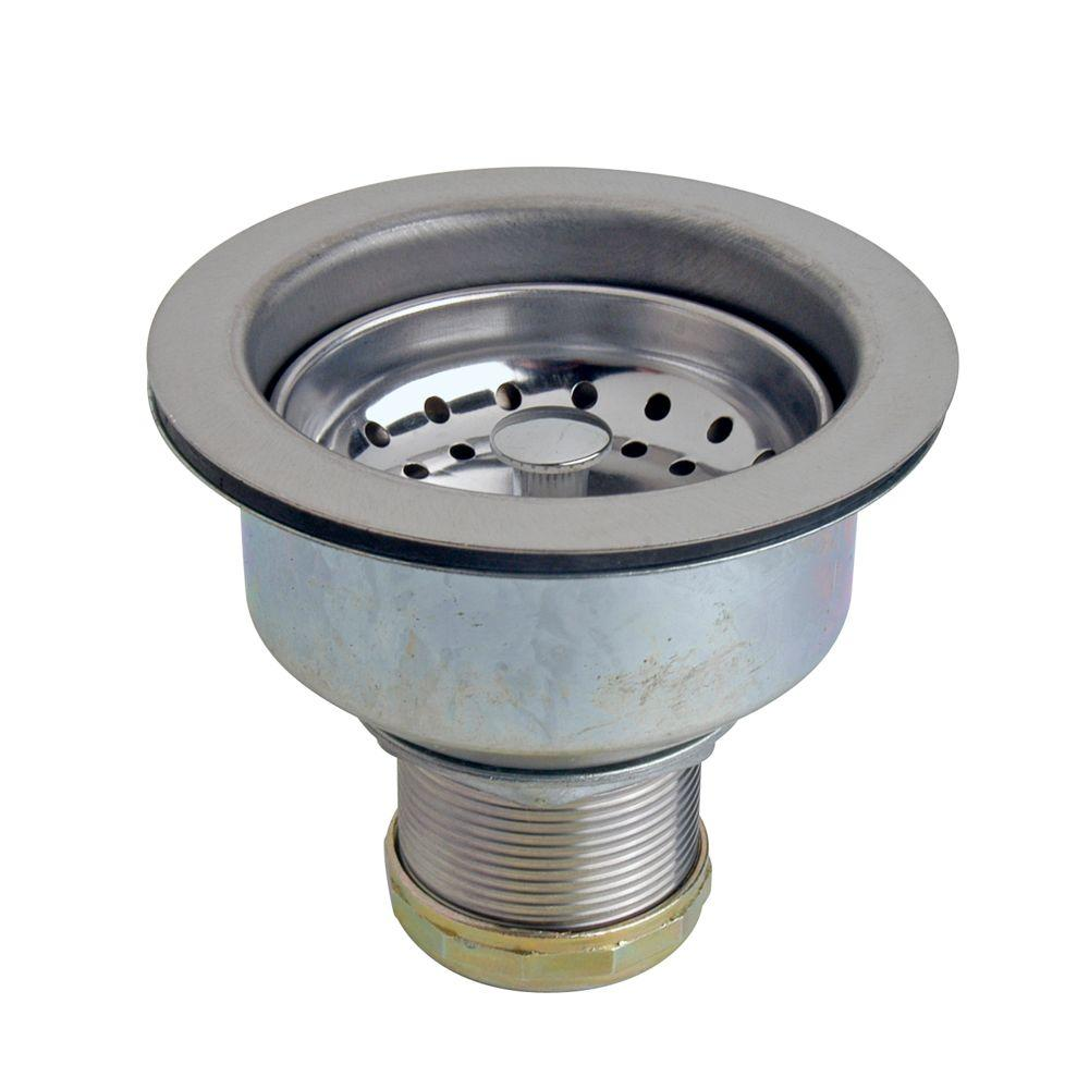 kitchen sink strainers 27 danco strainer assembly 86803 the home depot