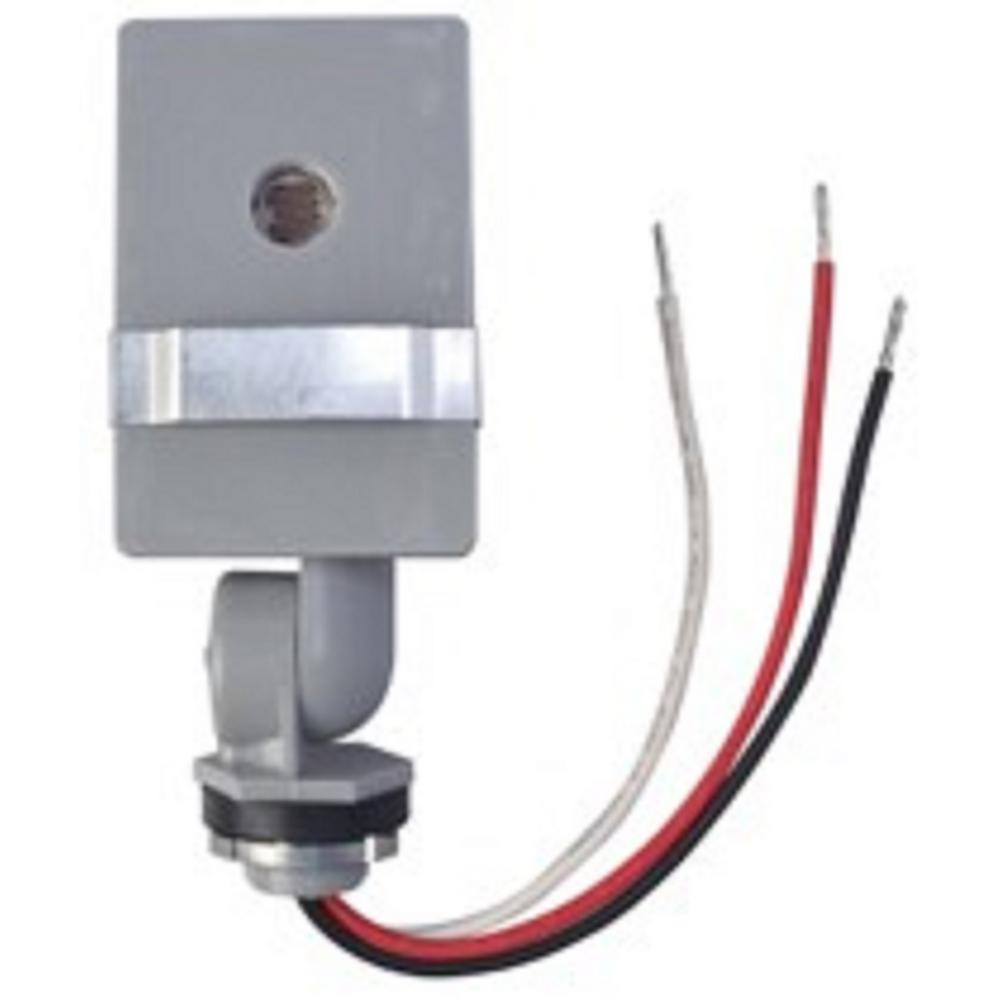 medium resolution of woods 2 000 watt outdoor in wall stem and swivel photocell light control