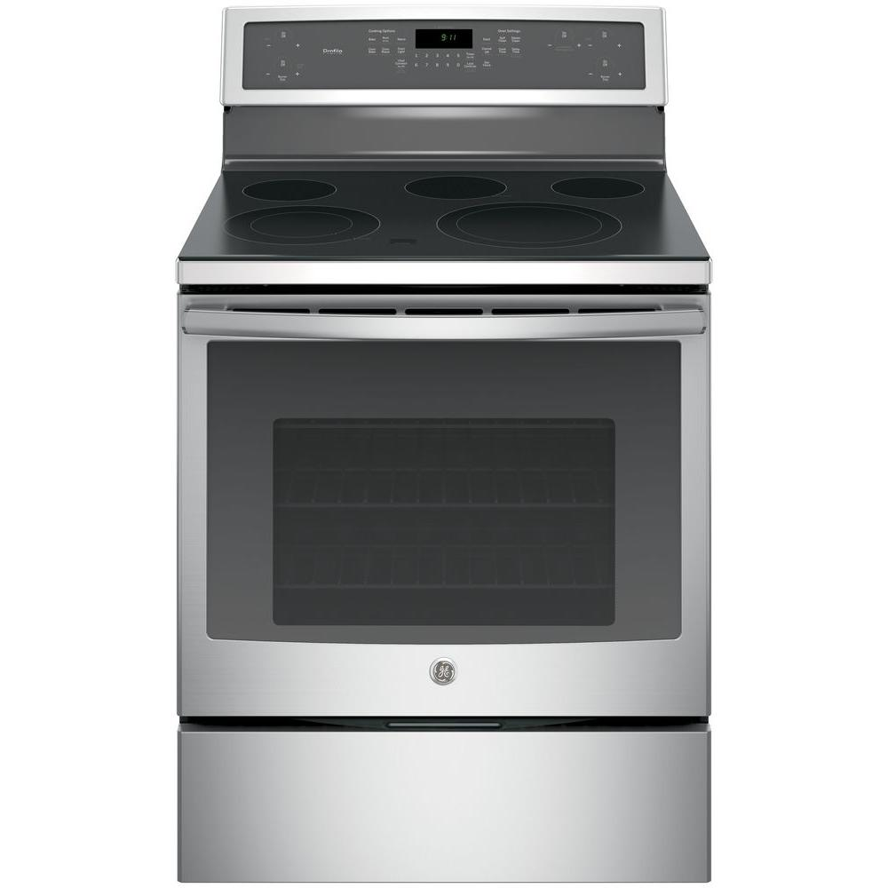 hight resolution of ge profile 30 in 5 3 cu ft electric range with self cleaning ge profile double oven electric range on ge range appliance diagram