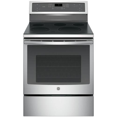 small resolution of ge profile 30 in 5 3 cu ft electric range with self cleaning ge profile double oven electric range on ge range appliance diagram