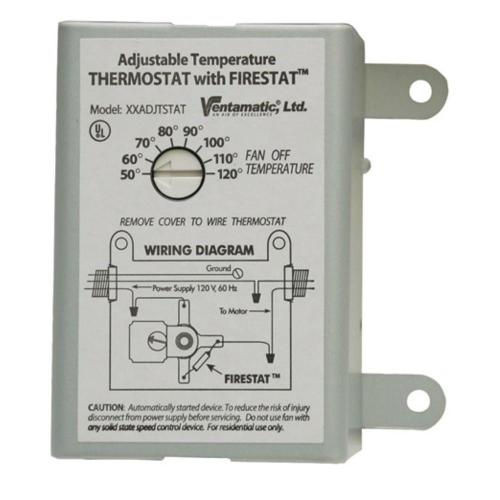 small resolution of cool attic 10 amp programmable thermostat with firestat