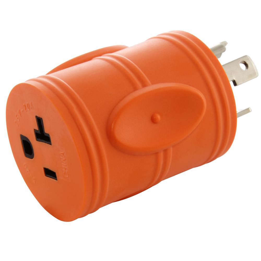 hight resolution of ac works generator locking adapter l5 30p 30a 125v 3 prong locking l5 30p wiring ac plug