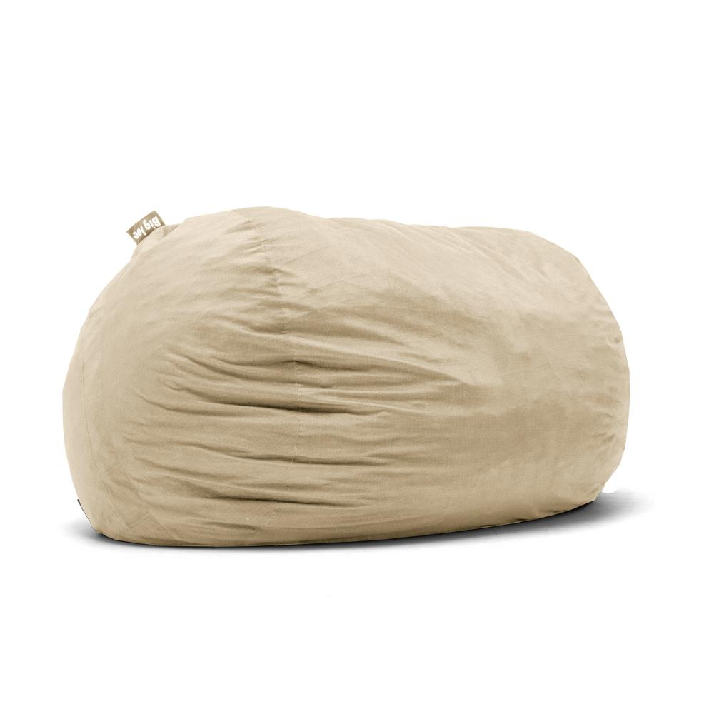 xxl fuf chair sunbrella cushion big joe shredded ahhsome foam oat lenox bean bag 0001659 the home depot