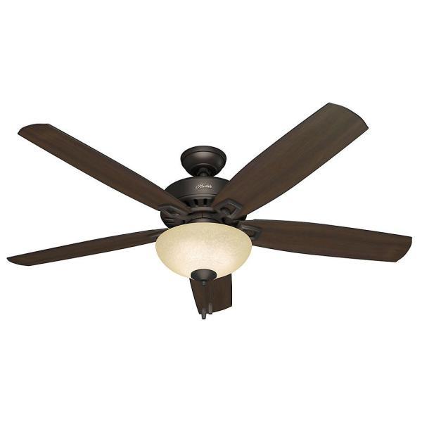Hunter Groveland 60 In. Indoor Premier Bronze Ceiling Fan