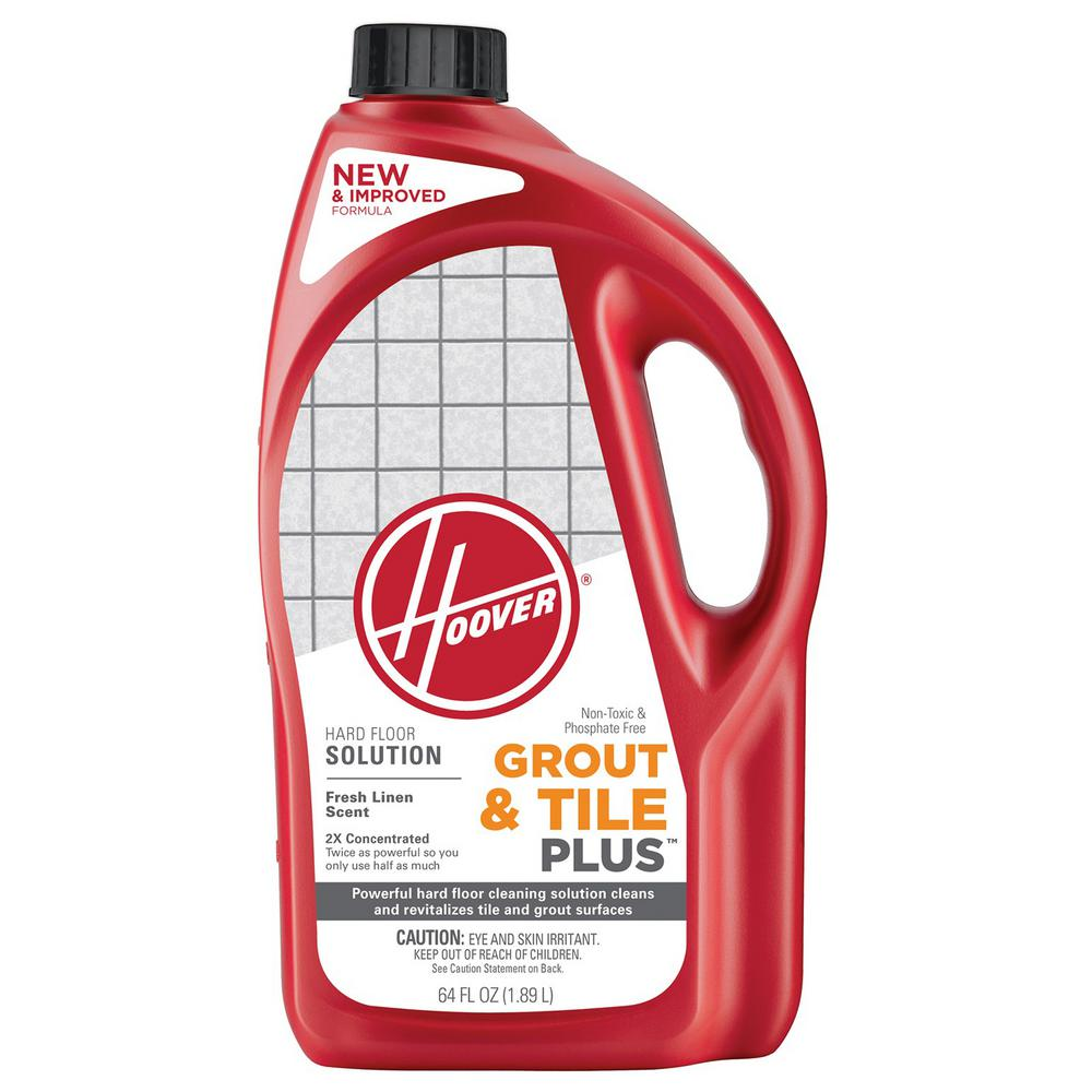 Hoover 64 oz 2X Grout and Tile Plus Hard Floor Cleaning