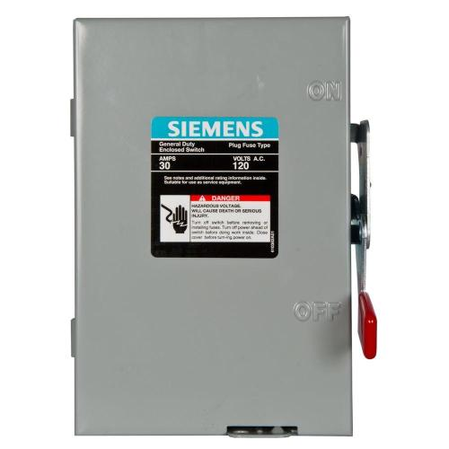 small resolution of general duty 30 amp 240 volt 1 pole fusible safety switch with neutral