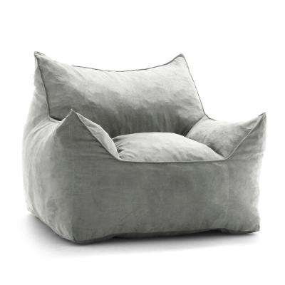 foam bean bag chair folding plans chairs the home depot imperial lounger shredded ahhsome cement comfort suede plus